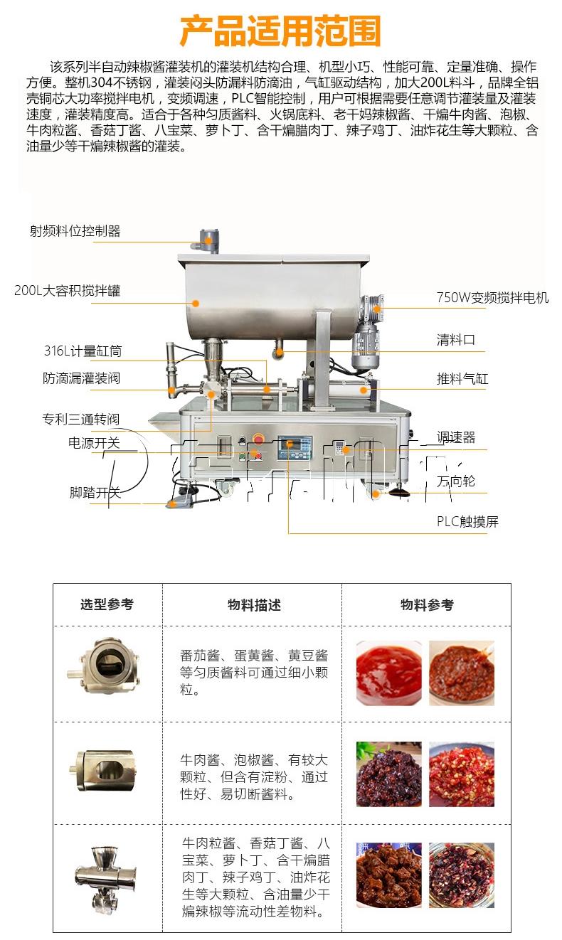 番茄酱灌装机让酱料如何灵活销售?